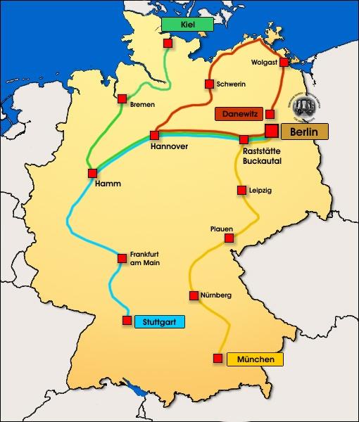 11. Sternfahrt der Biker Union