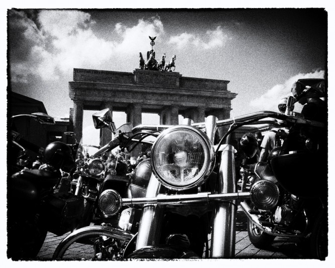 Motorbikes, Berlin ©picturetom