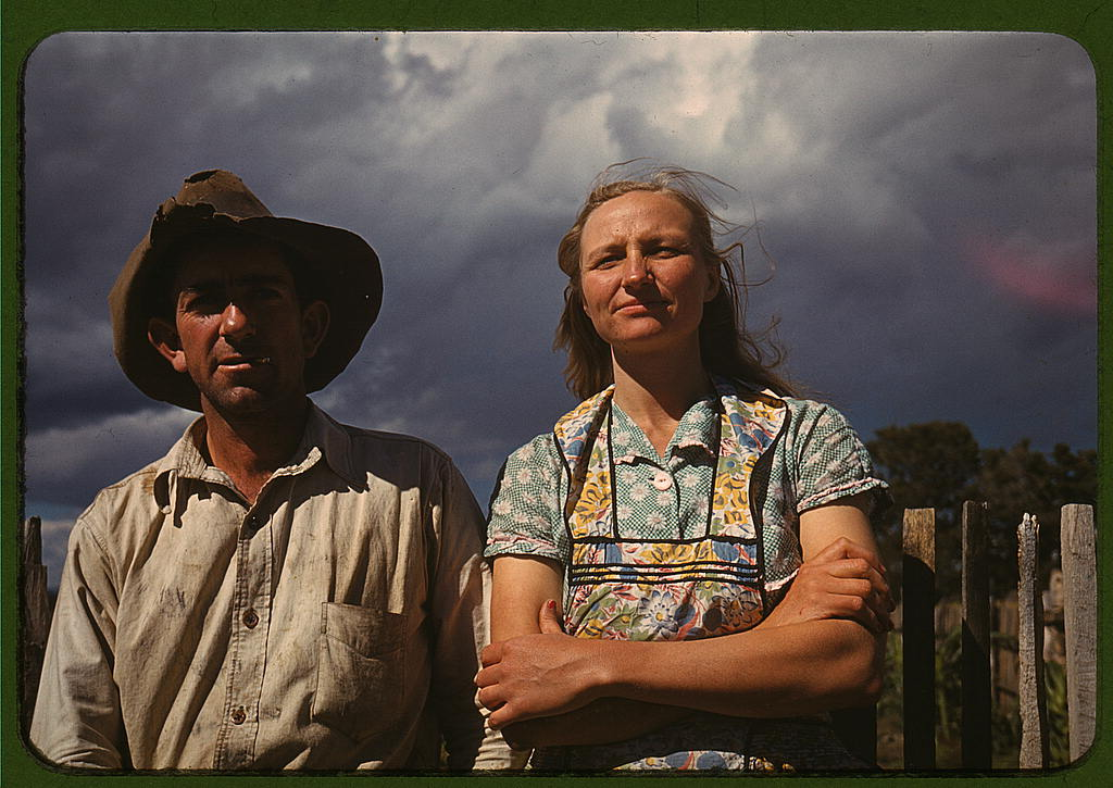 Color photos of the great depression